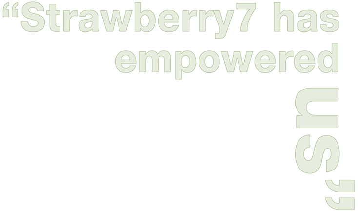 strawberry7 has empowered us